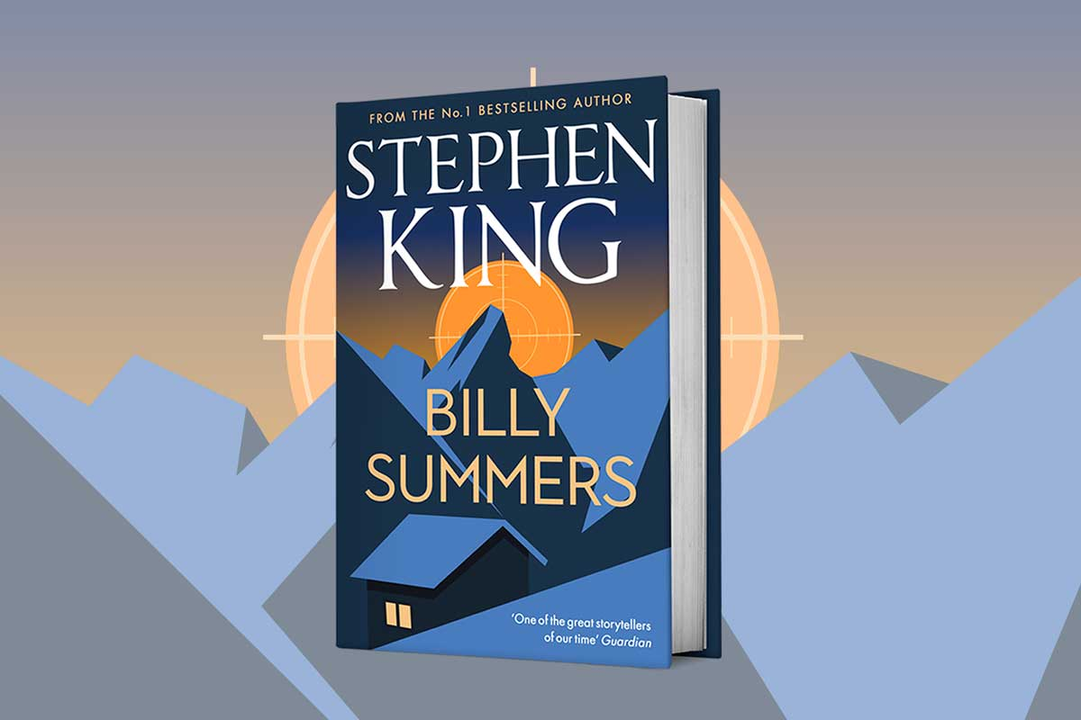 Billy Summers: a compelling new suspense novel by Stephen King coming in August!