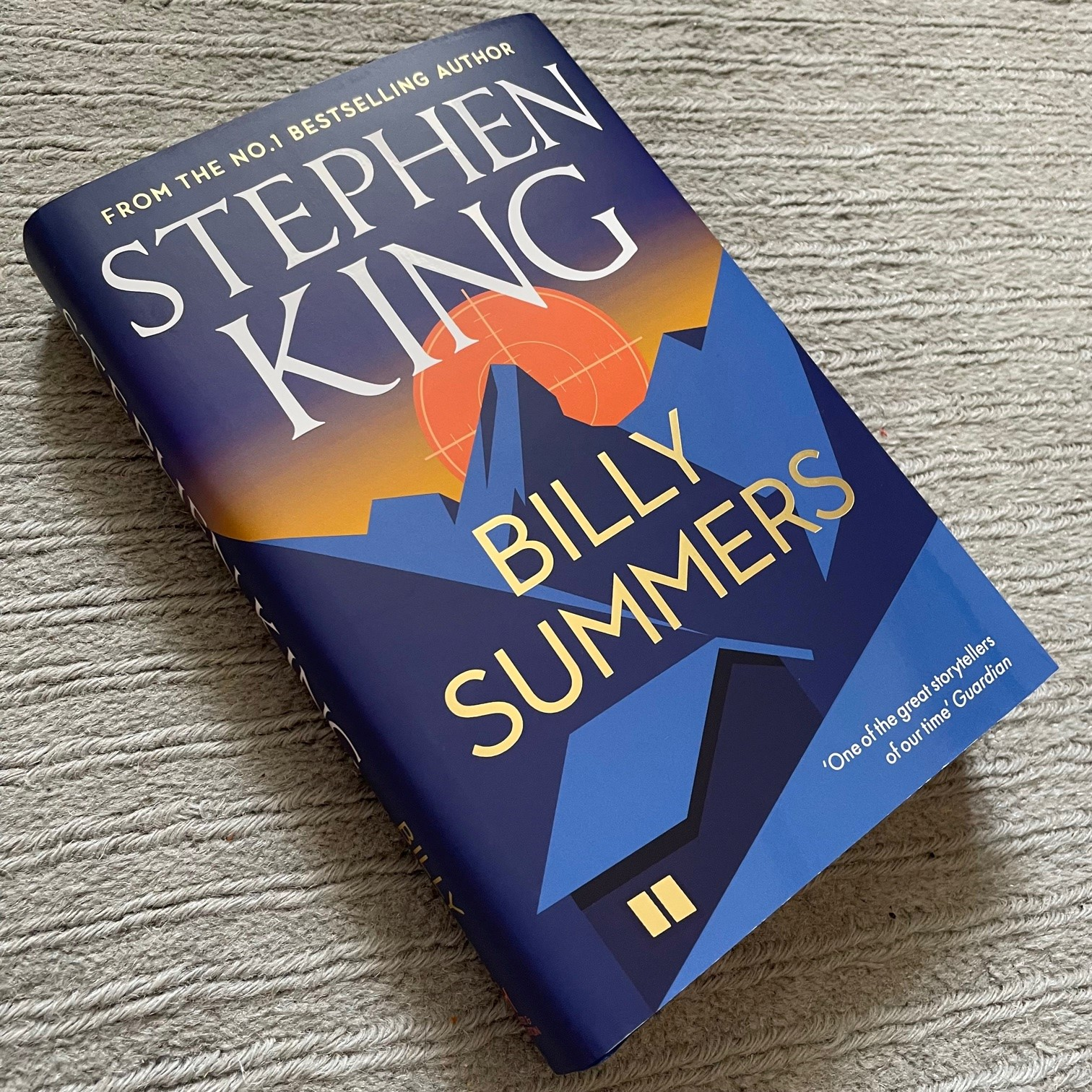 Read an extract from BILLY SUMMERS!