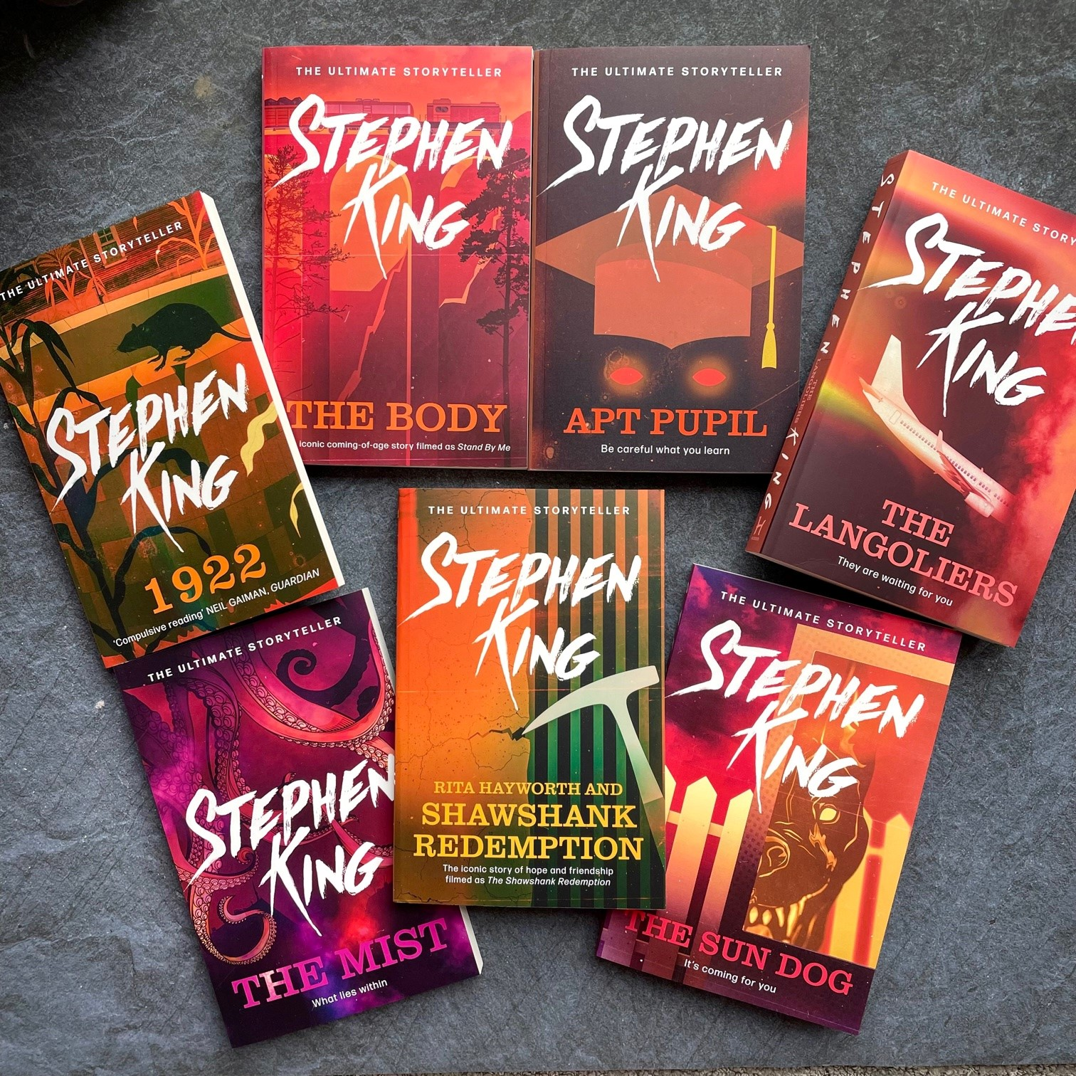 King for a Day: An introduction to Stephen King's novellas